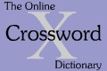 Online Crossword Dictionary